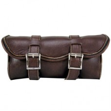 Brown Leather Fork Bag