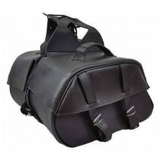 Two-Strap PVC Saddle Bags
