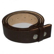 Brown No-Buckle Belt