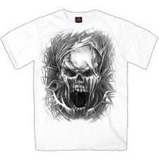 SS SCREAMING SKULL