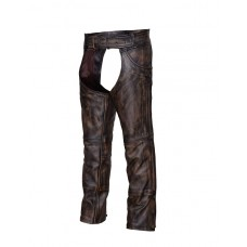 Brown Naked Leather Chaps