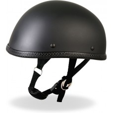 Matte Black Easy-Rider Novelty Helmet