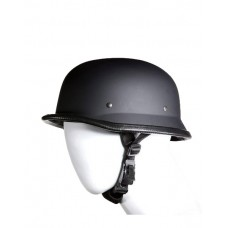 Matte Black German Novelty Helmet