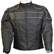 Textile & Leather Jacket