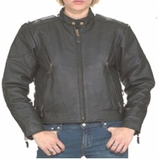 Ladies' Vented Jacket with Side Lace