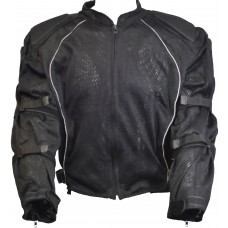 Mesh Riding Jacket with Kevlar Padding