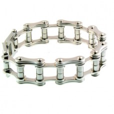 Steel Bike Chain Bracelet