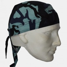 Blue Camo Do Rag
