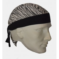 Zebra-Stripe Do Rag